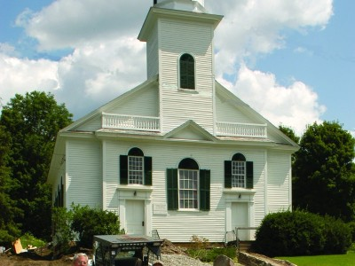(20) In Most Vermont Communities, Worship Services Are Still Held In Historic Buildings.