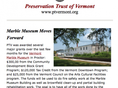 (8) Subscribe To Historic Vermont, Our Electronic Newsletter, And Keep Current!