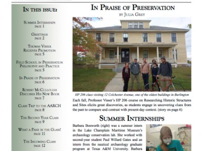 (10) Interested In A Career In Historic Preservation?