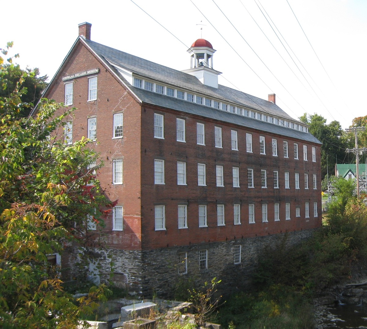 The American Precision Museum Houses The History Of Vermont's Machine Tool.