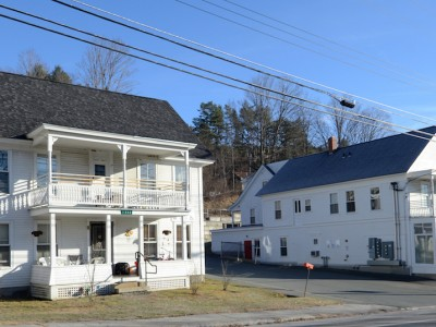 Village Store And Library, Groton Village