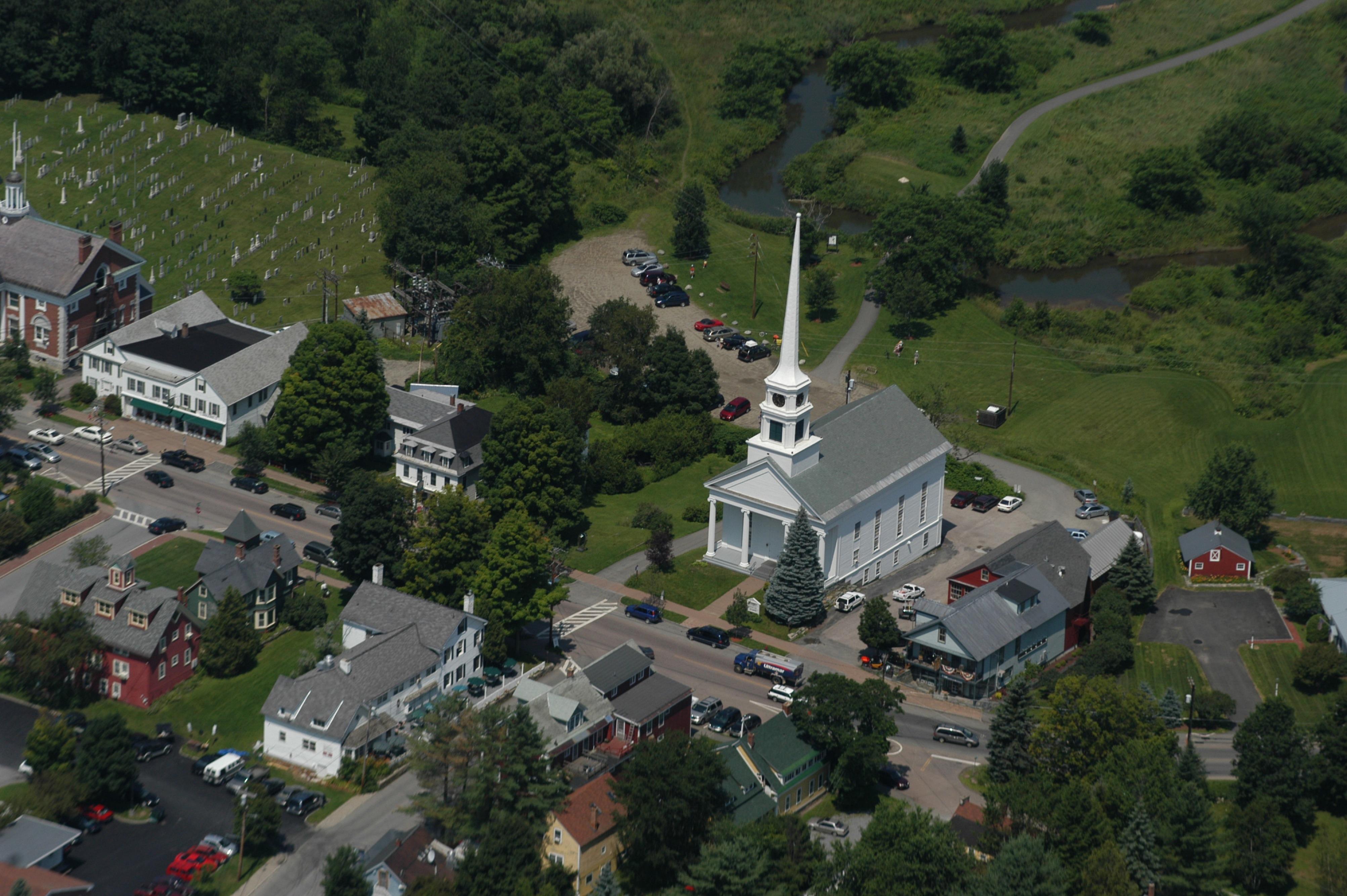 Photo Stowe Village Credit Sanders Milens