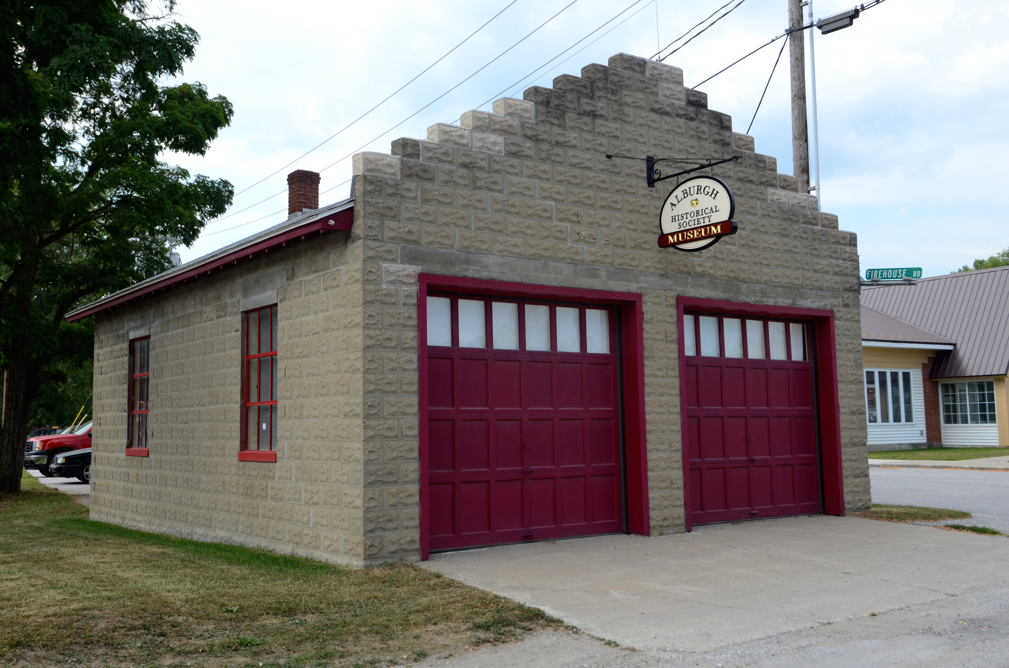 Alburgh Firehouse Historical Society Museum, Grand Isle County