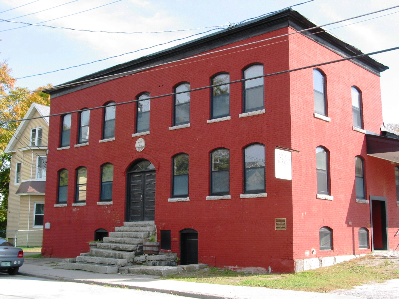 Barre Old Labor Hall