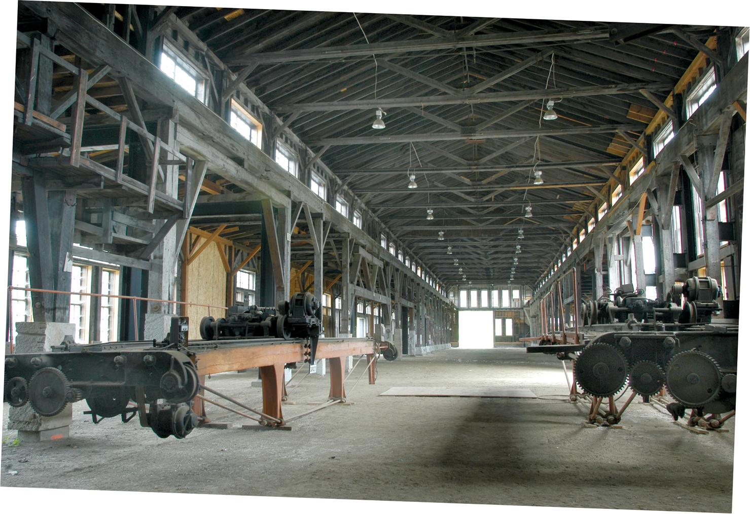 Barre Vermont Granite Museum Interior