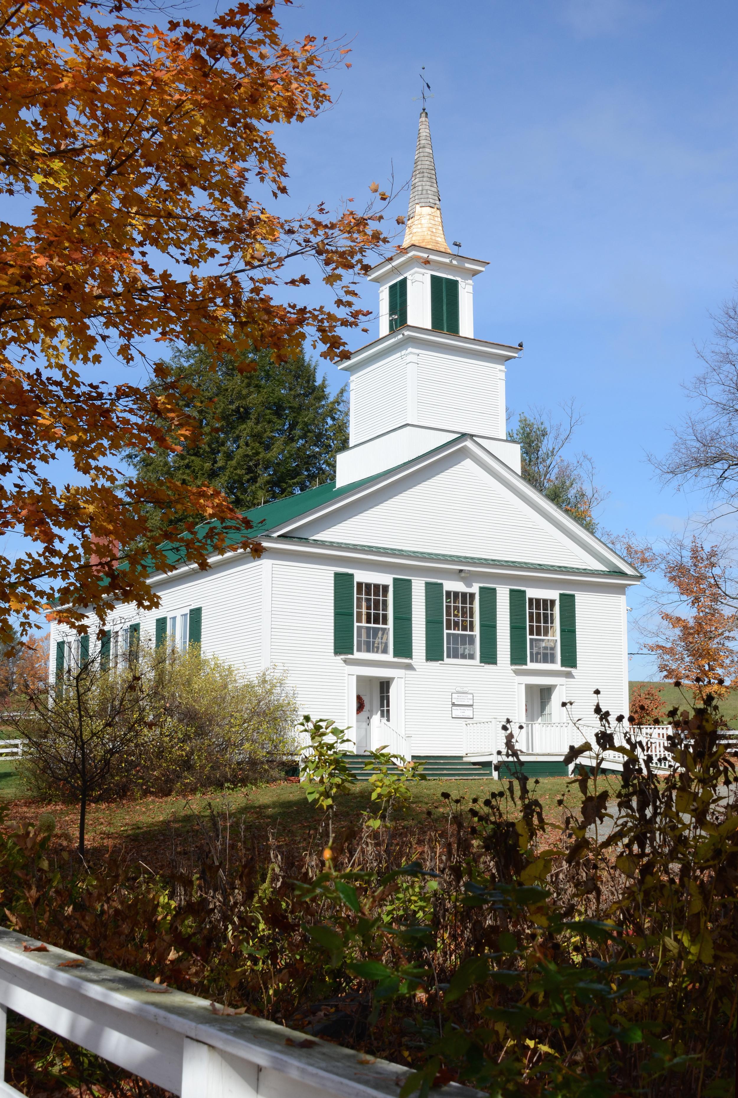 Congregational Church, Brownington