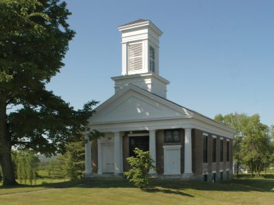 Lamoille Lodge & First Baptist Church, Fairfax