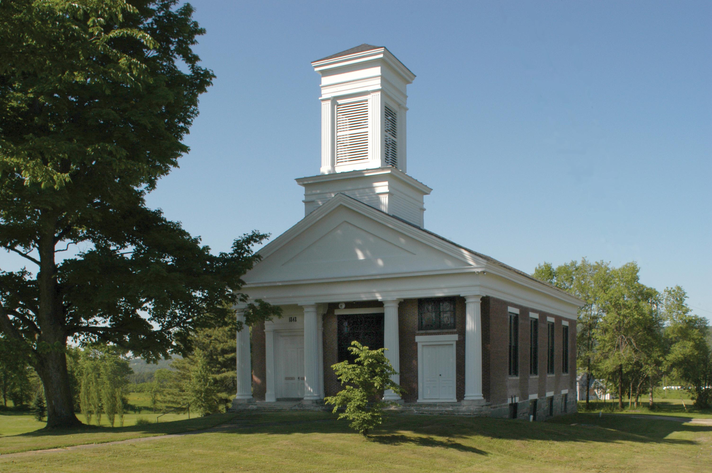 Lamoille Lodge & First Baptist Church, Fairfax