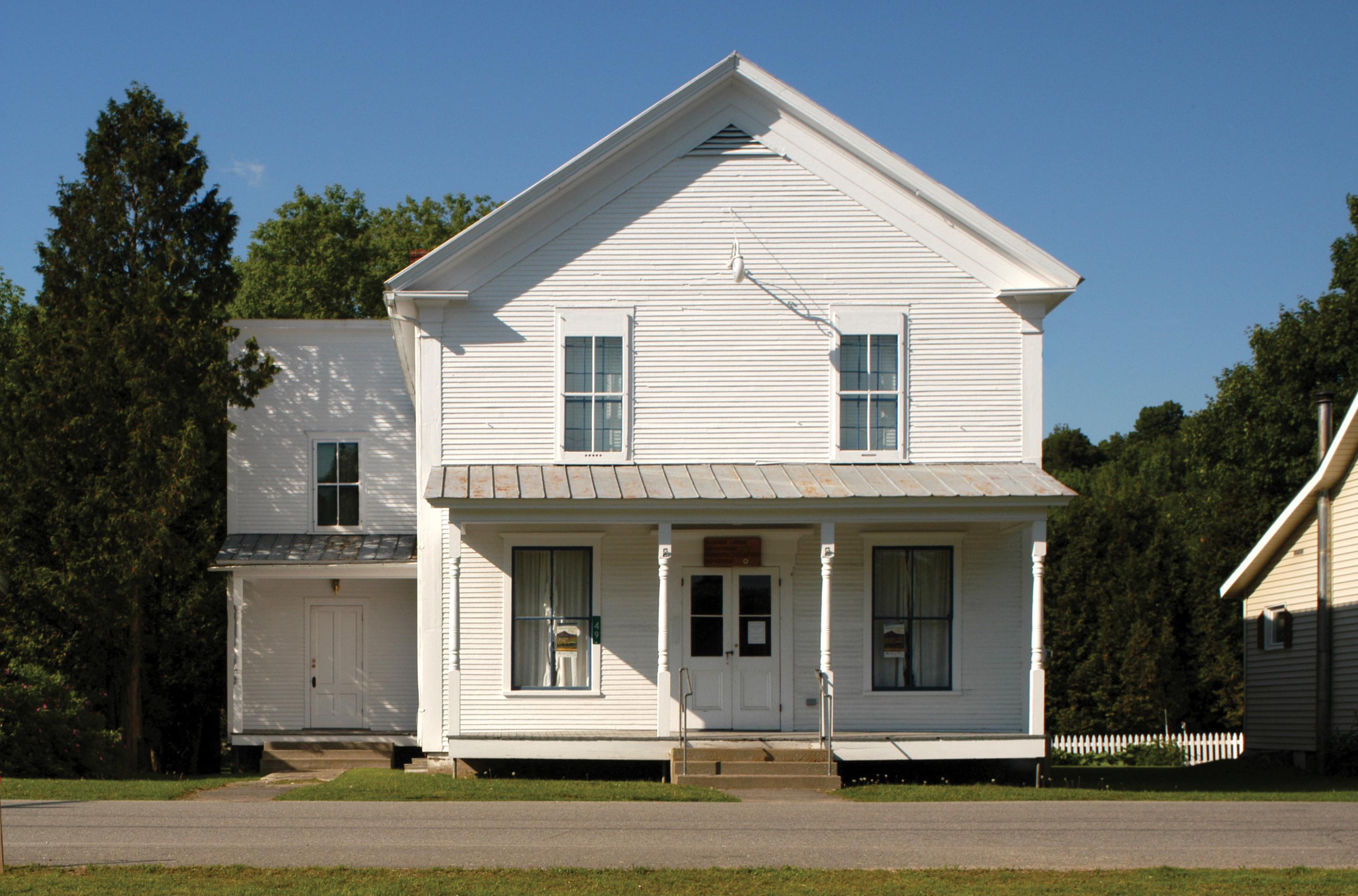 Jefferson Cambridge Historical Scoiety Warner Lodge