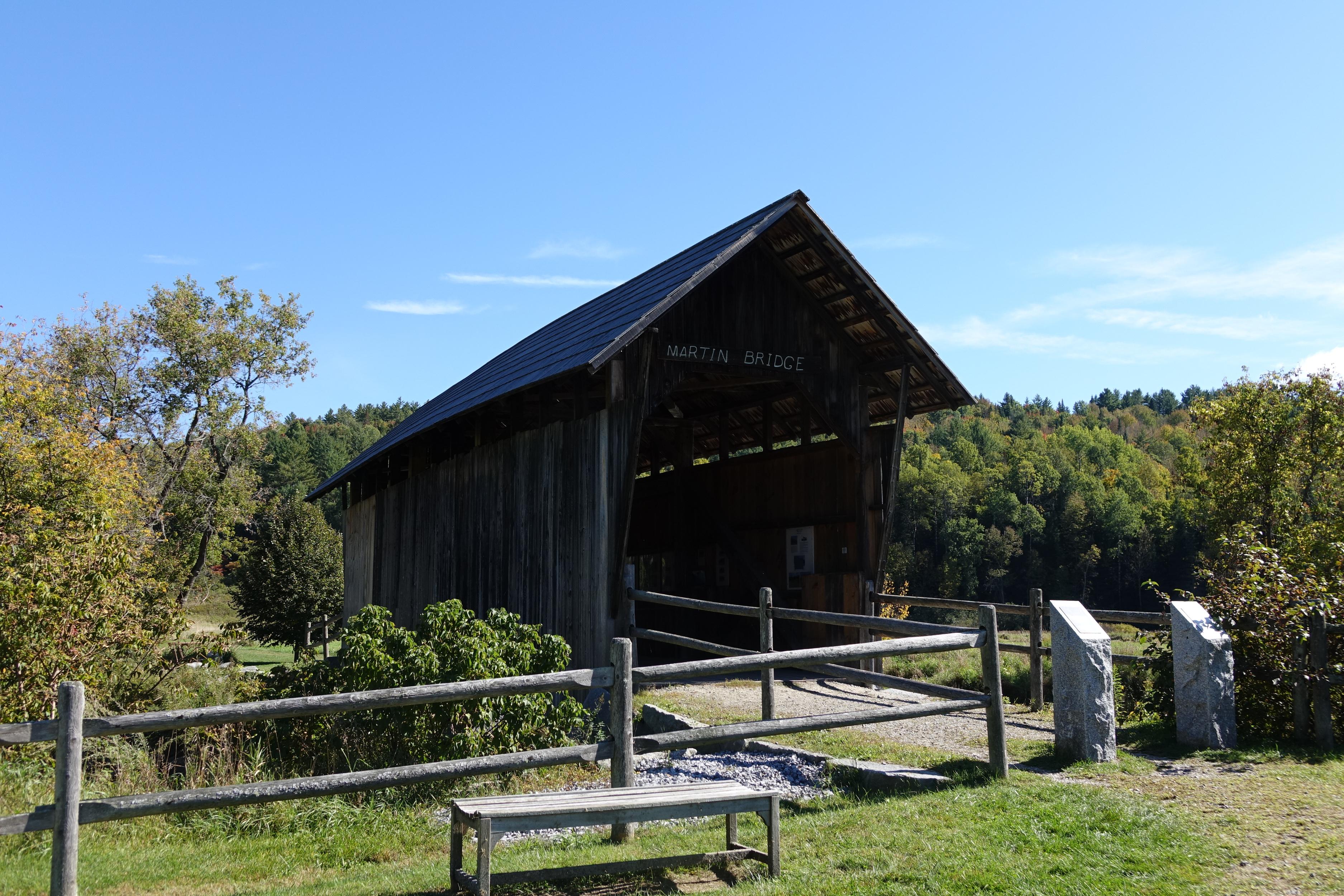 Marshfield Martin Covered Bridge