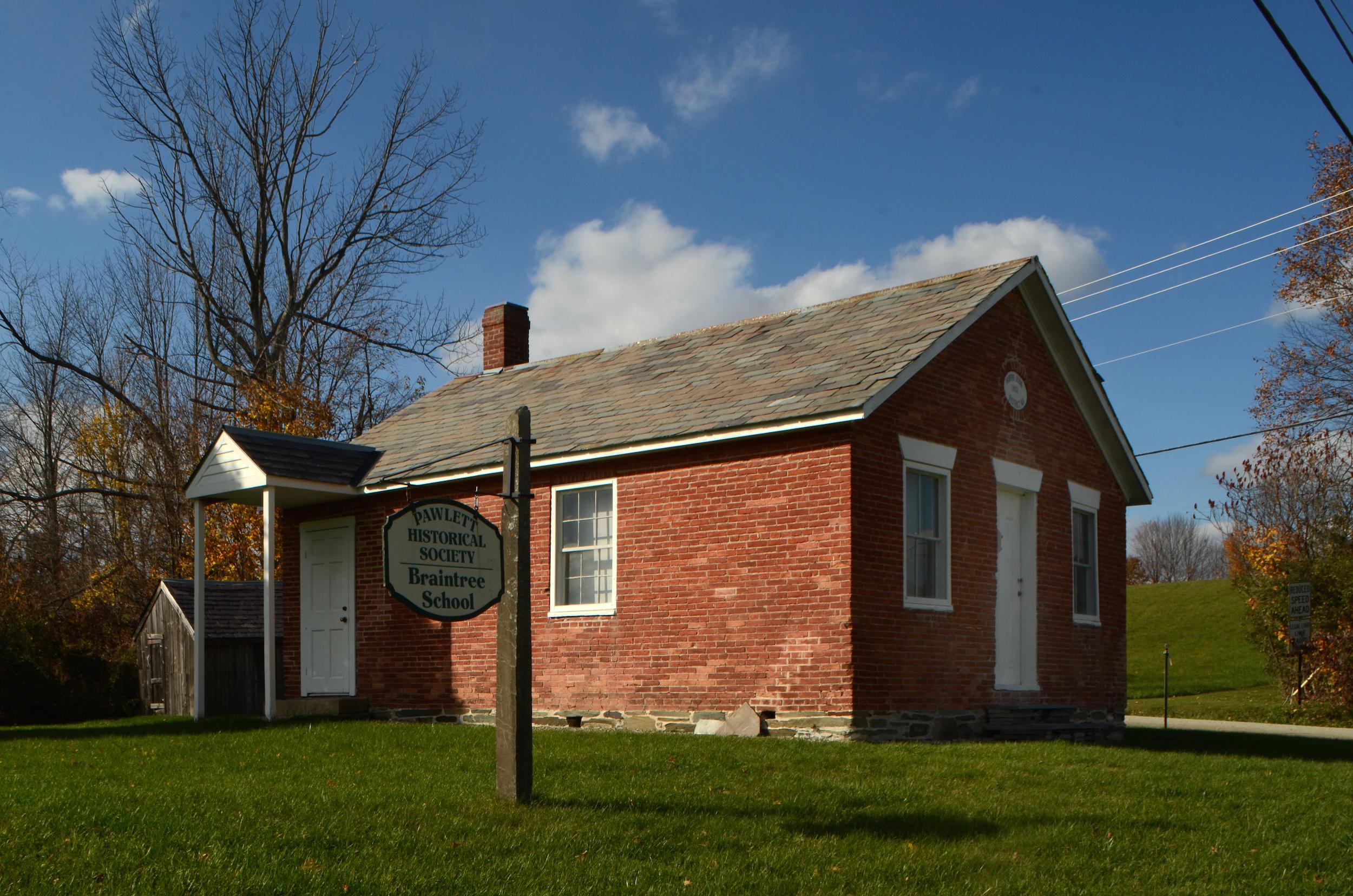 Pawlet Historical Society Braintree School