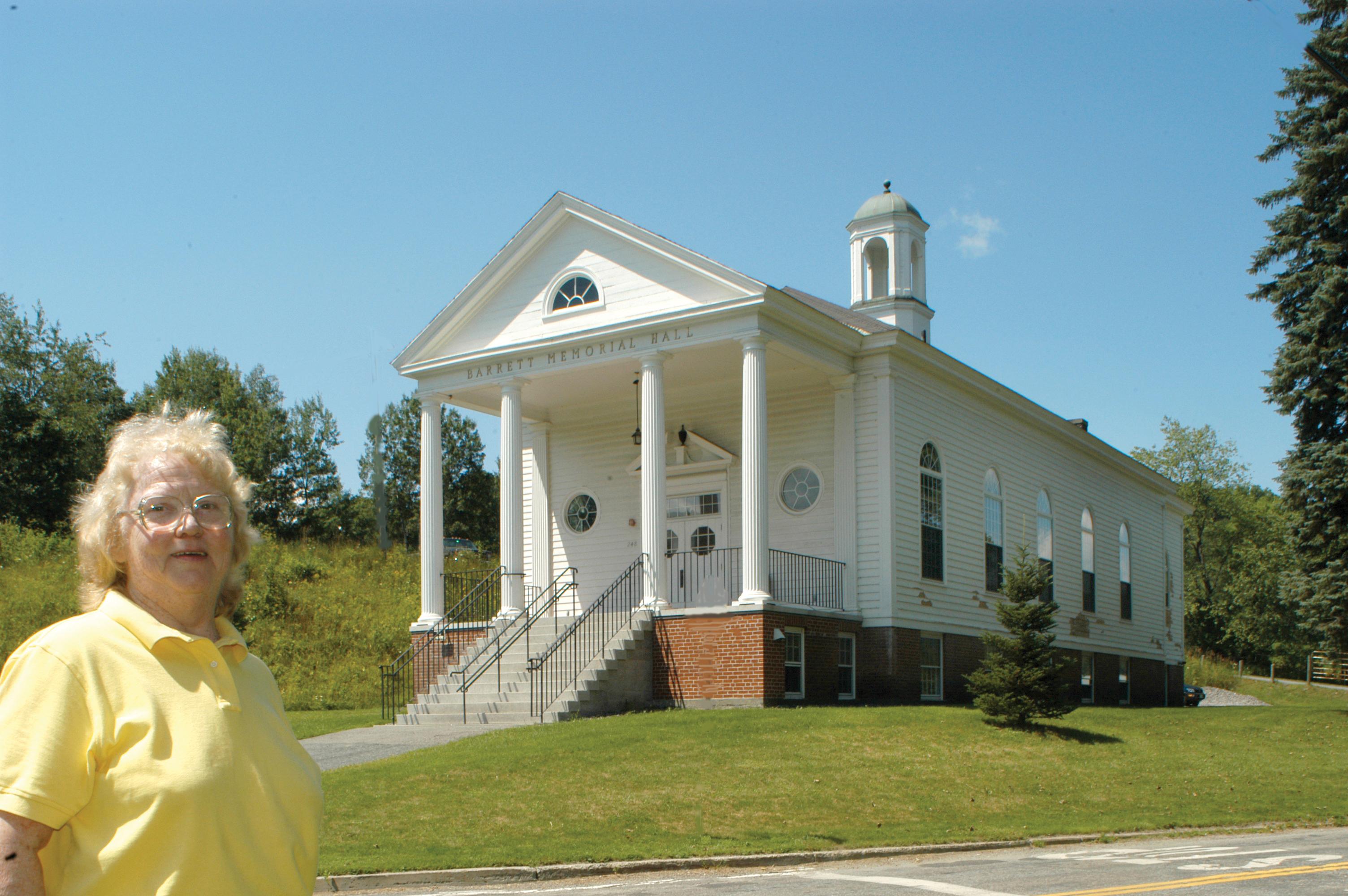 South Strattford Barrett Memorial Hall