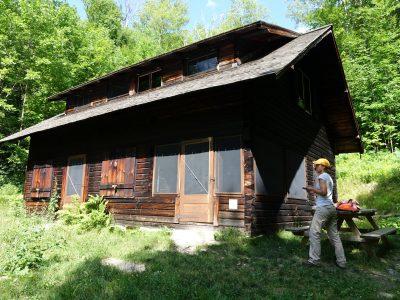 Moravian Cabin, Stowe