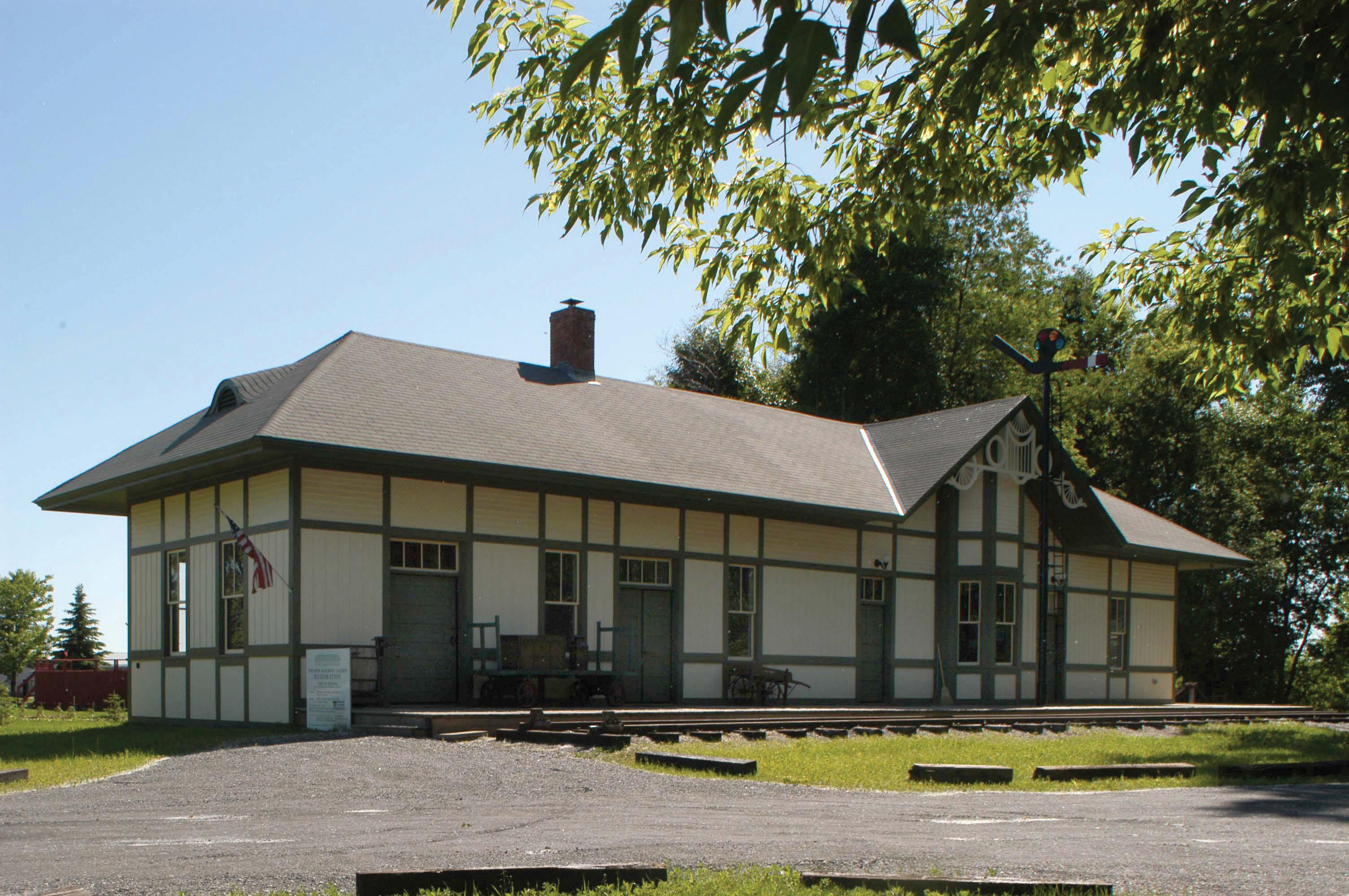 Swanton Railroad Depot
