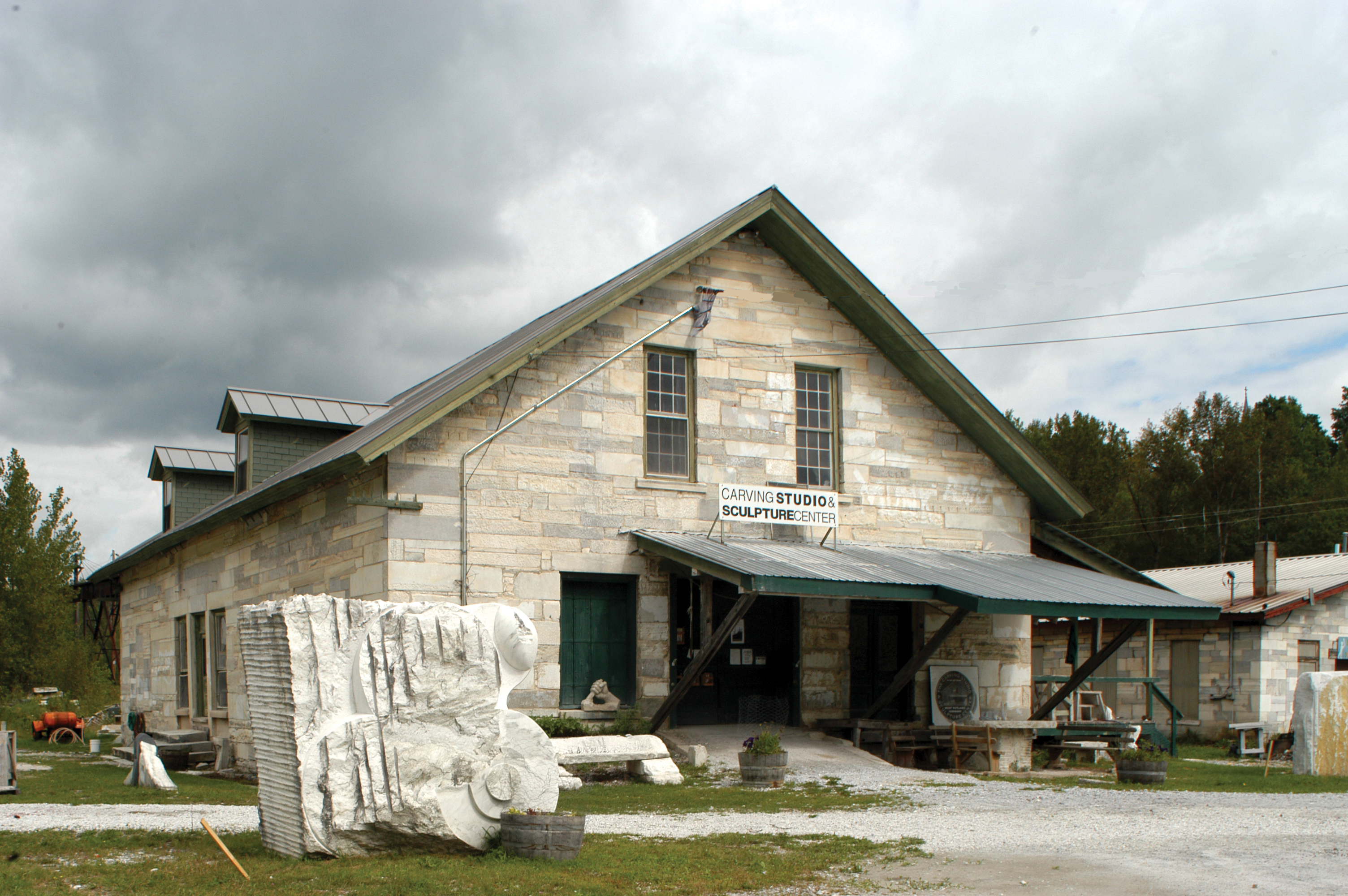 West Rutland Vermont Carving Studio