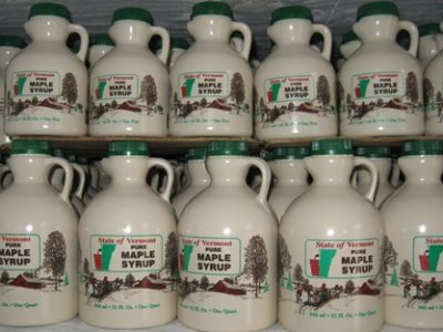 320. Four Quarts Of Organic Maple Syrup From Green Wind Farm