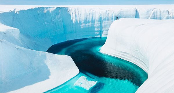 LandLensbalog Greenland Ice Sheet