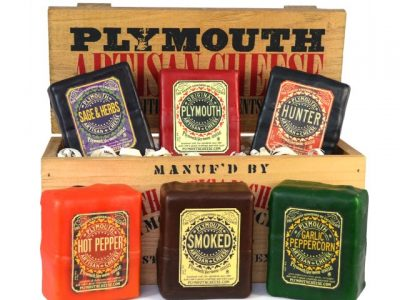 318. Plymouth Cheese Gift Box With Six Cheeses