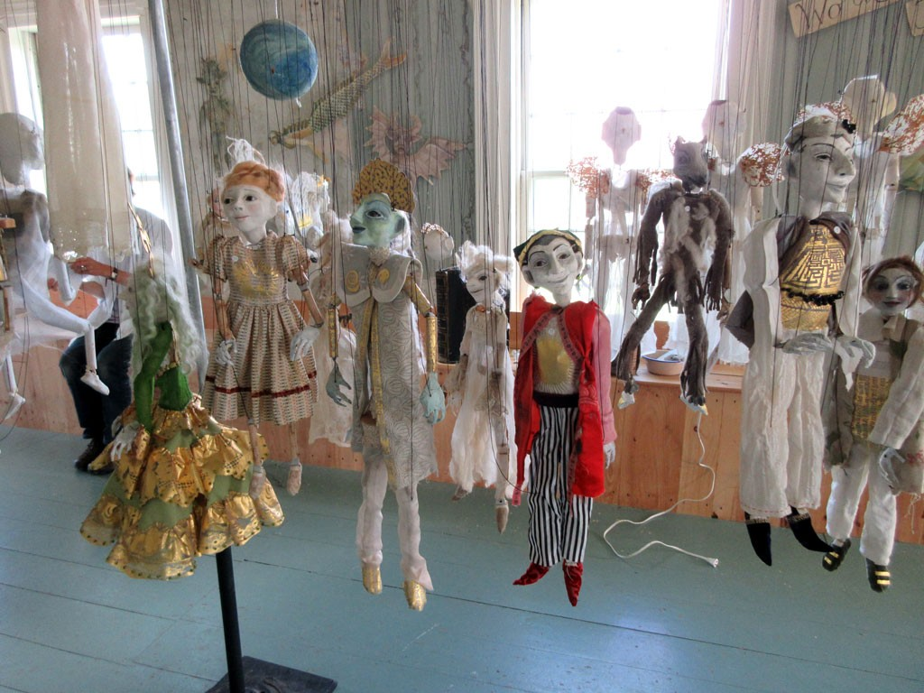 Installation View – Puppets