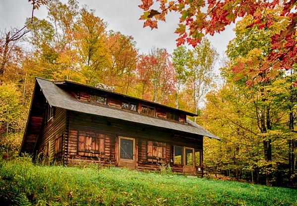 Restored Moravian Cabin 2014