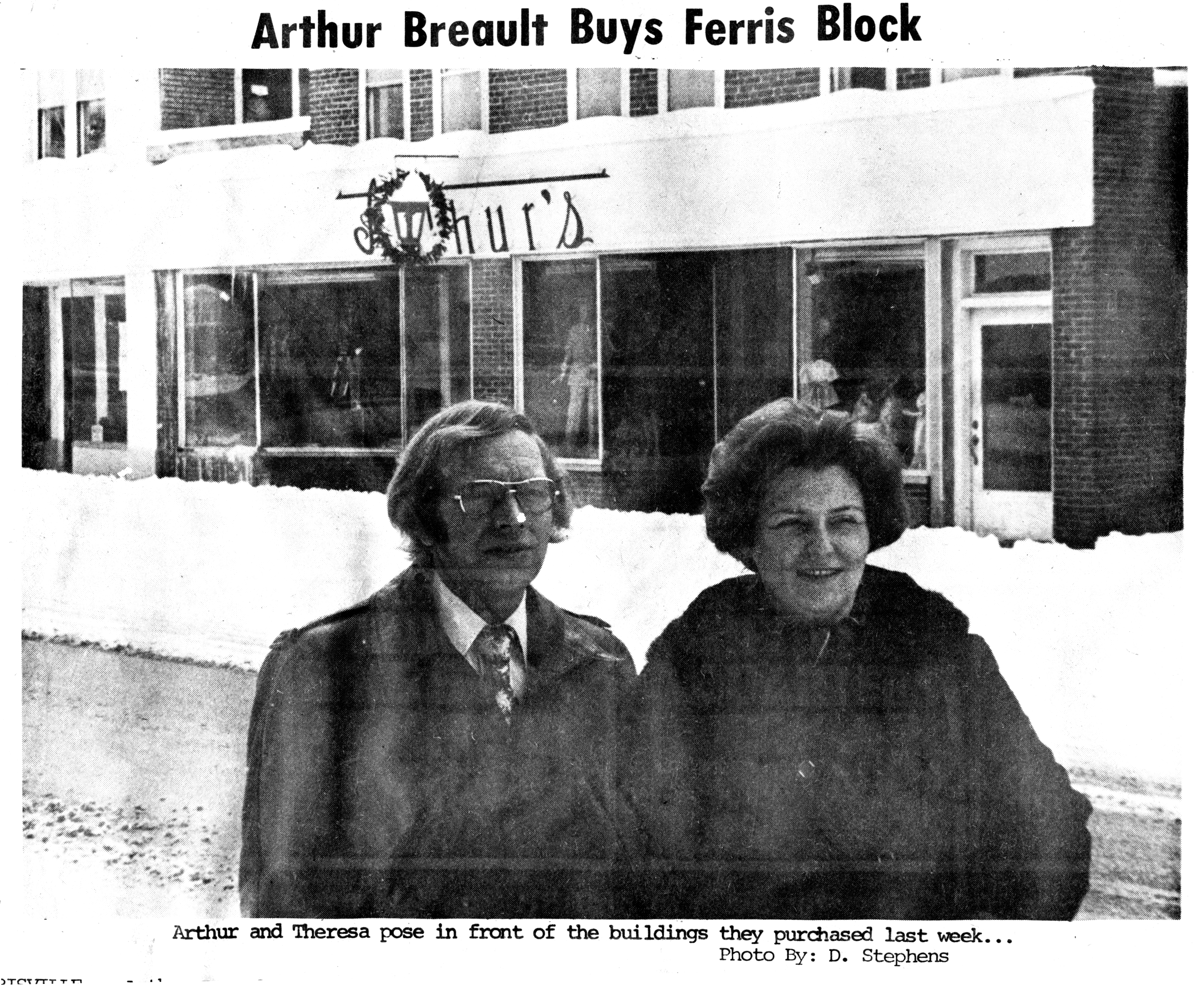 Arthur And Theresa Breault