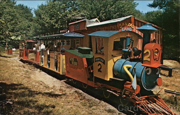 Train Ride At Santa's Land