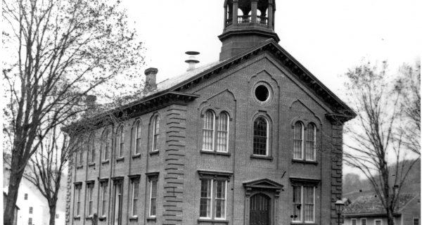 WINSDOR COUNTY COURTHOUSE CIRCA 1870.