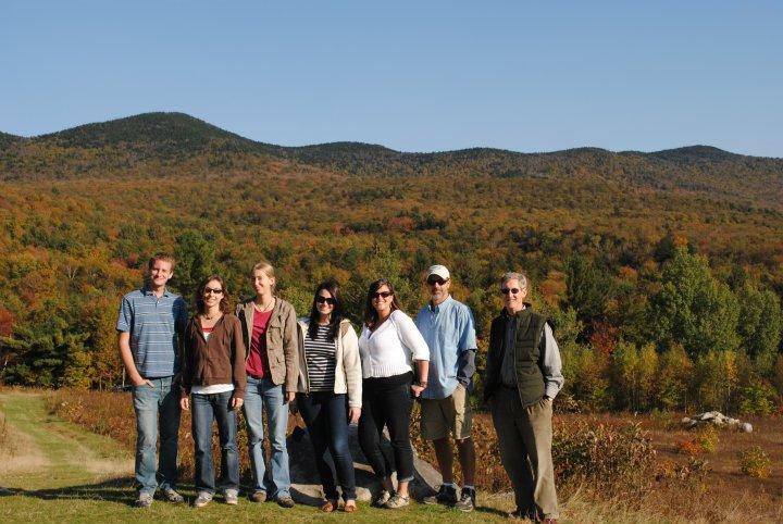 Class Of 2012 At The Moosalamoo Recreation Area.