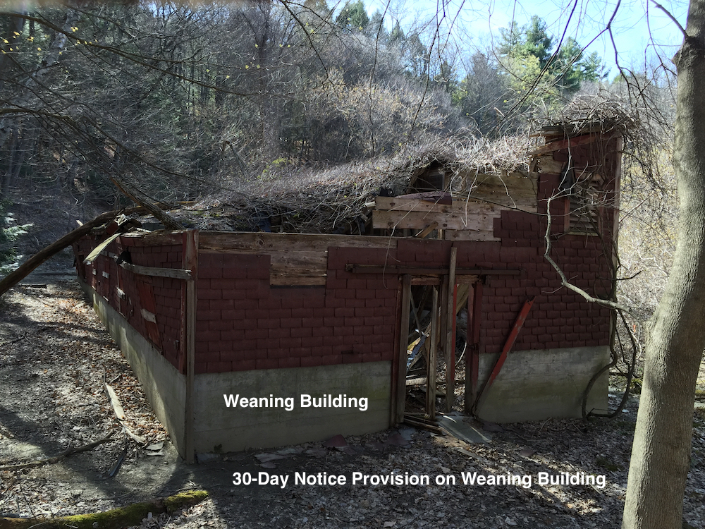 Weaning Building