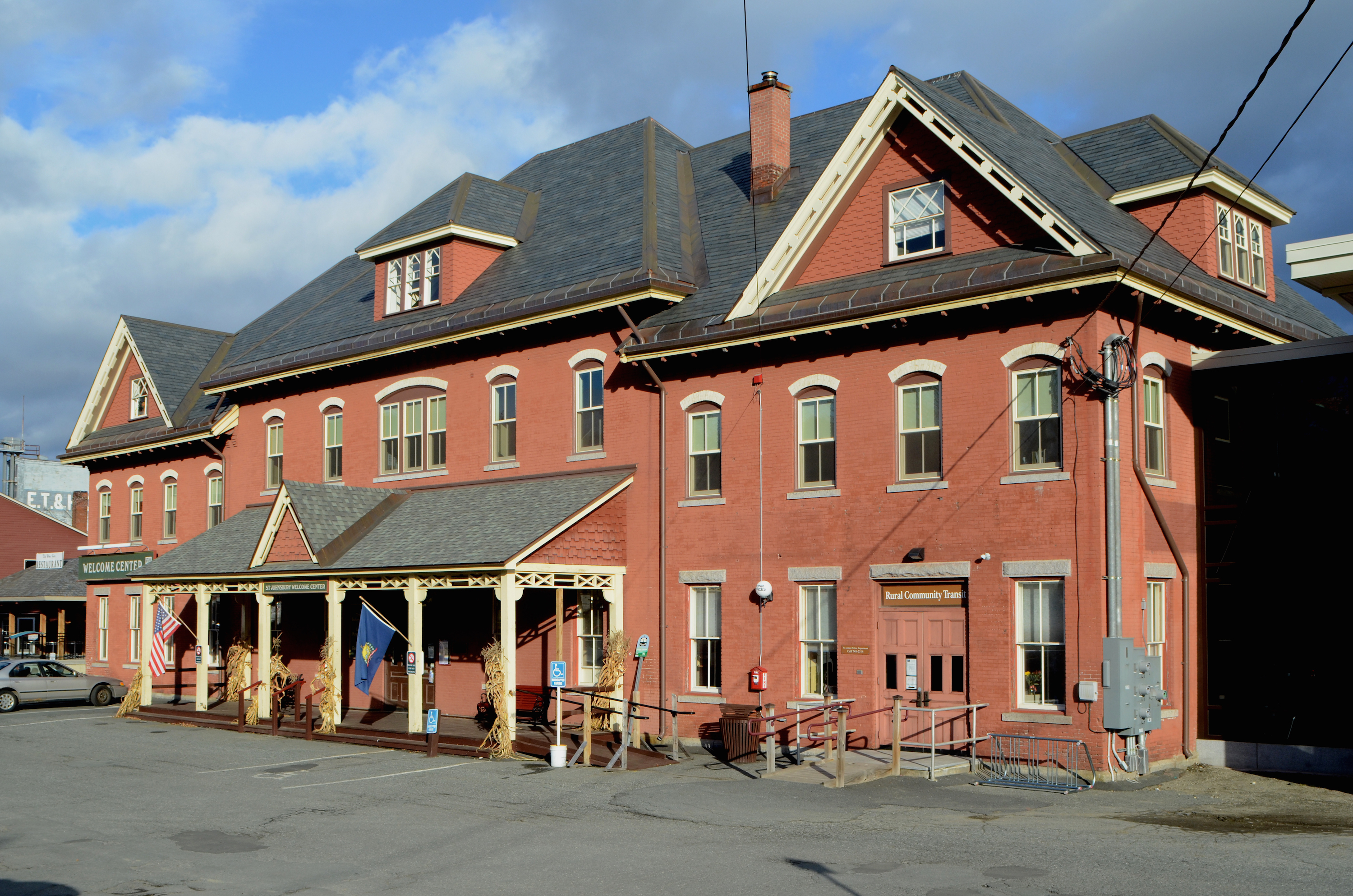 2008 St. Johnsbury Railroad Station
