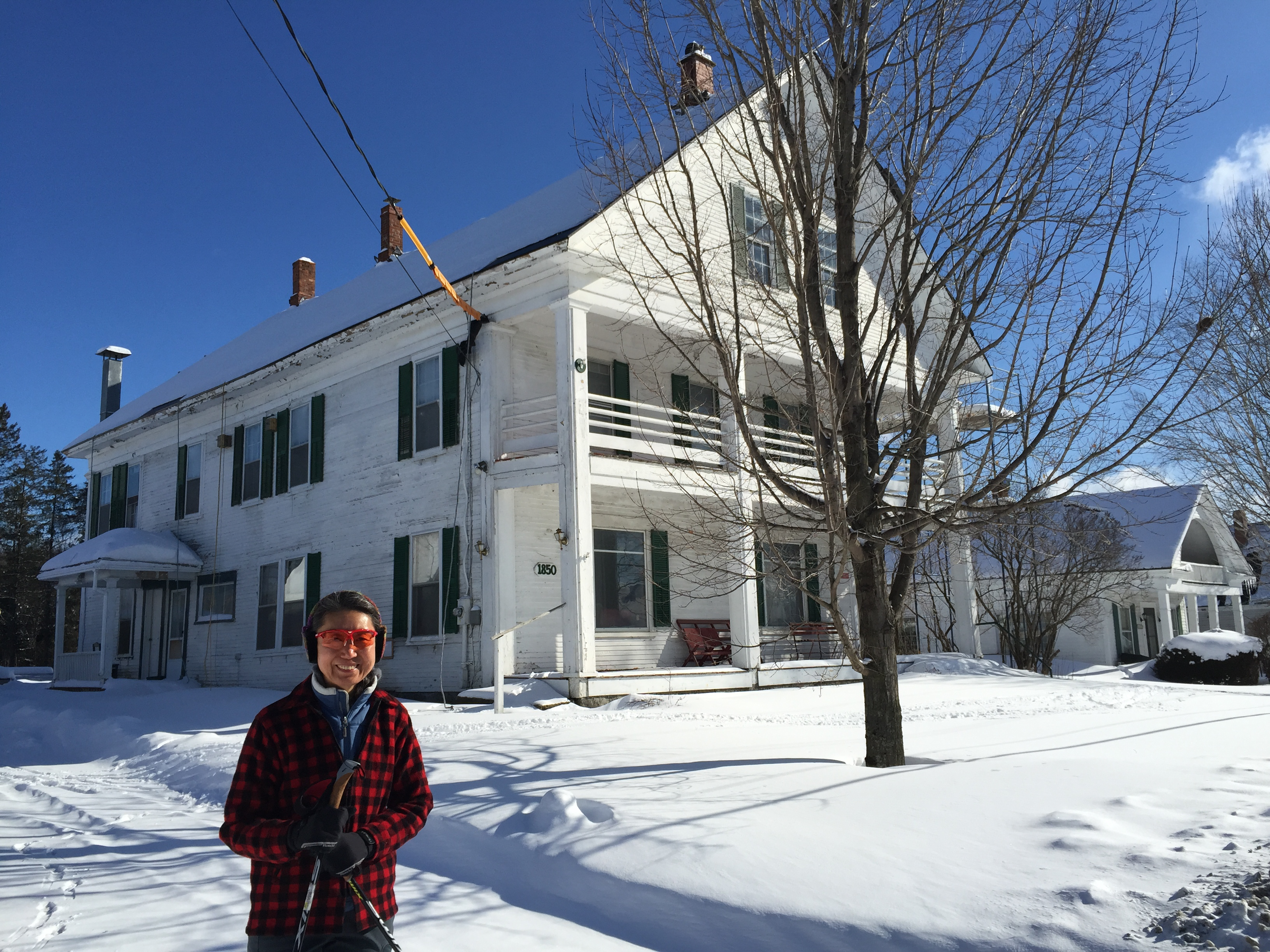 Craftsbury Inn (former), Craftsbury Common