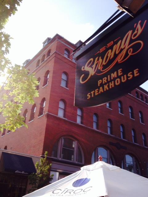 EB Strong Steakhouse, Burlington, VT