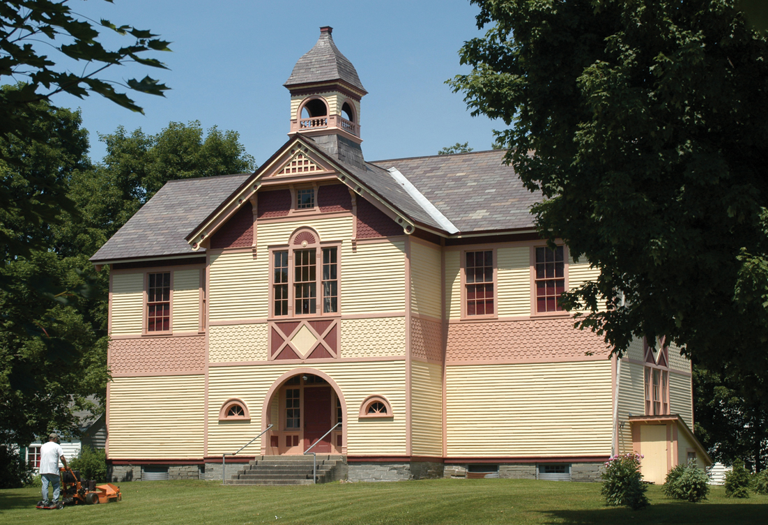 East Poultney 1896 Schoolhouse Historical Society Buildings3