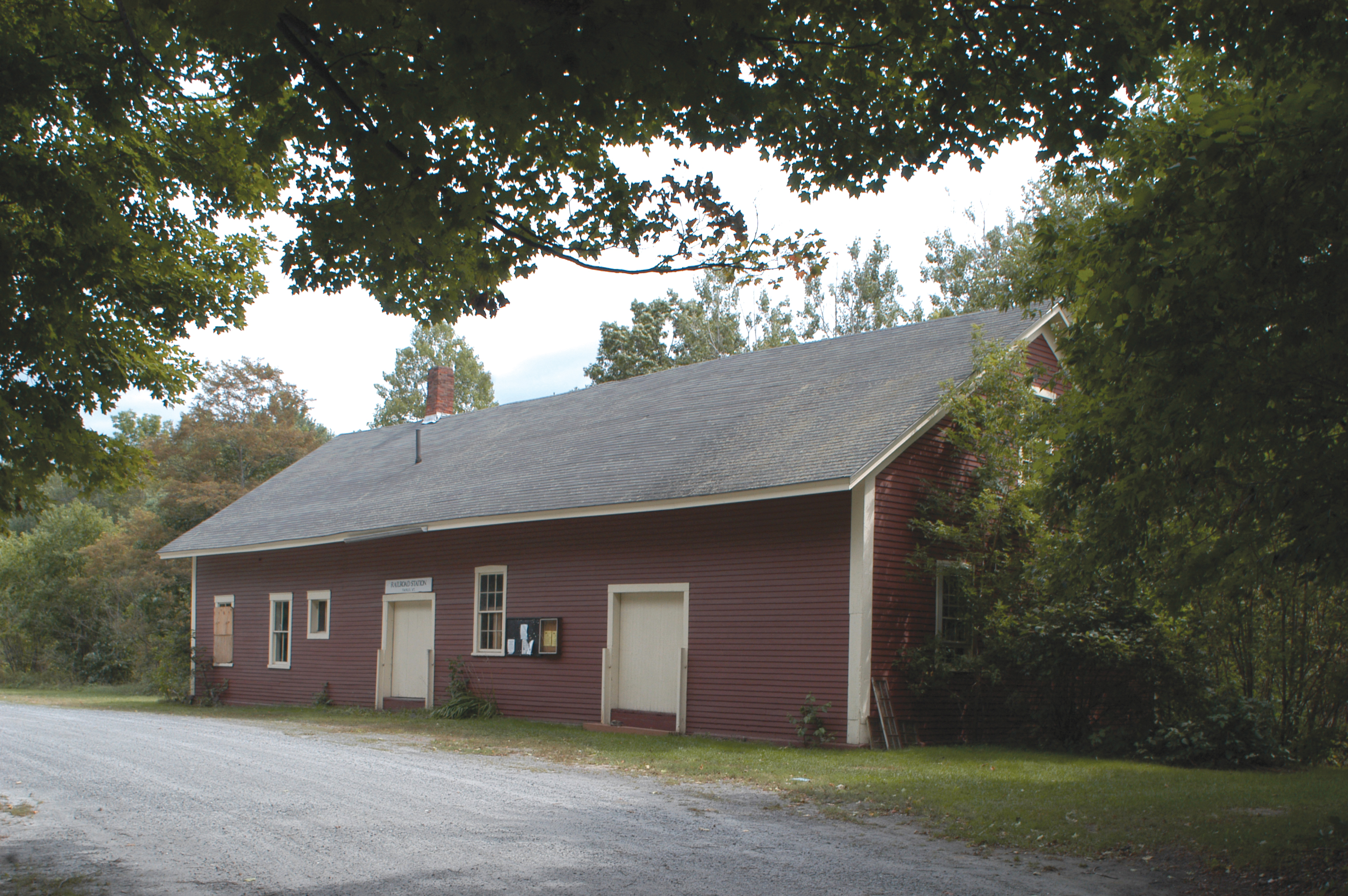 Railroad Depot, Fairlee