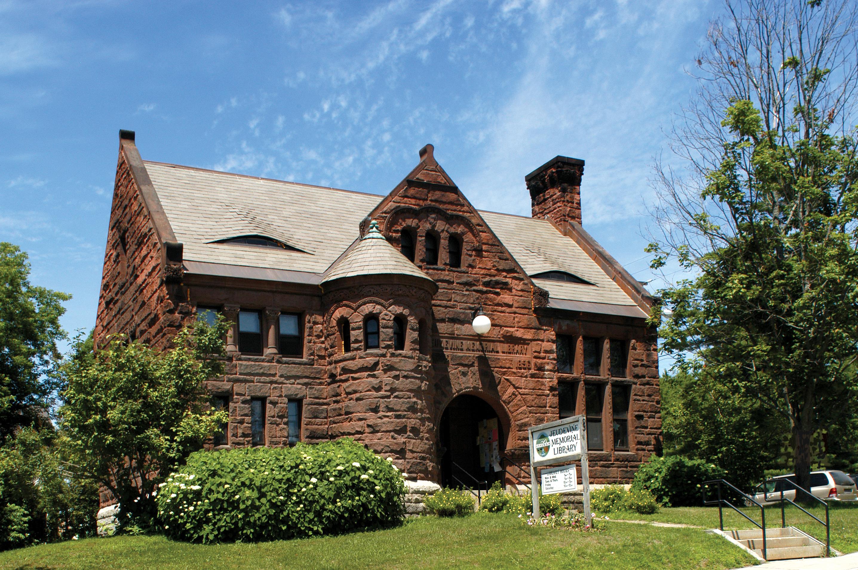 Hardwick Judevine Library