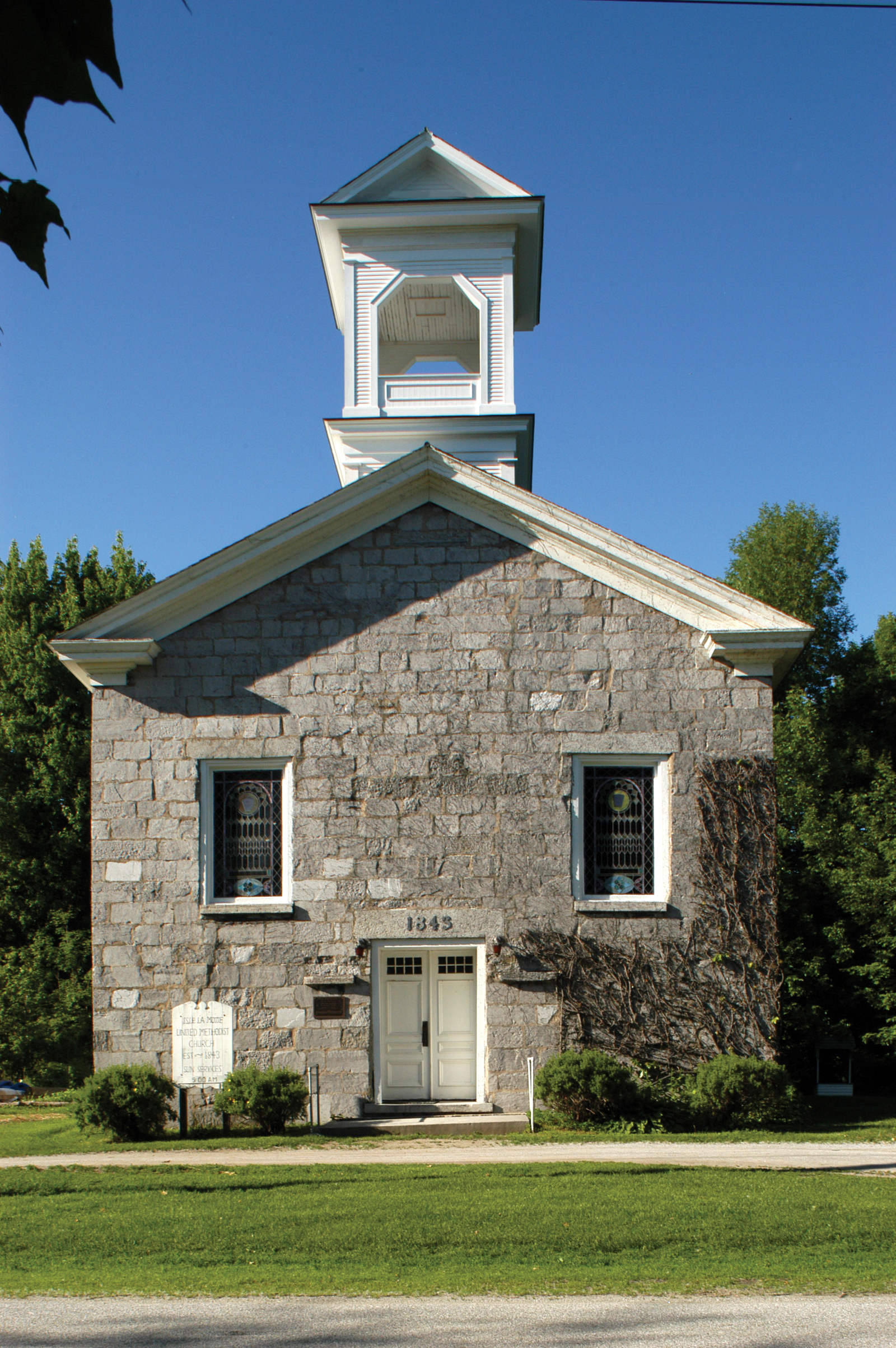 Isle LaMotte Methodist Episcopal Church, Grand Isle County