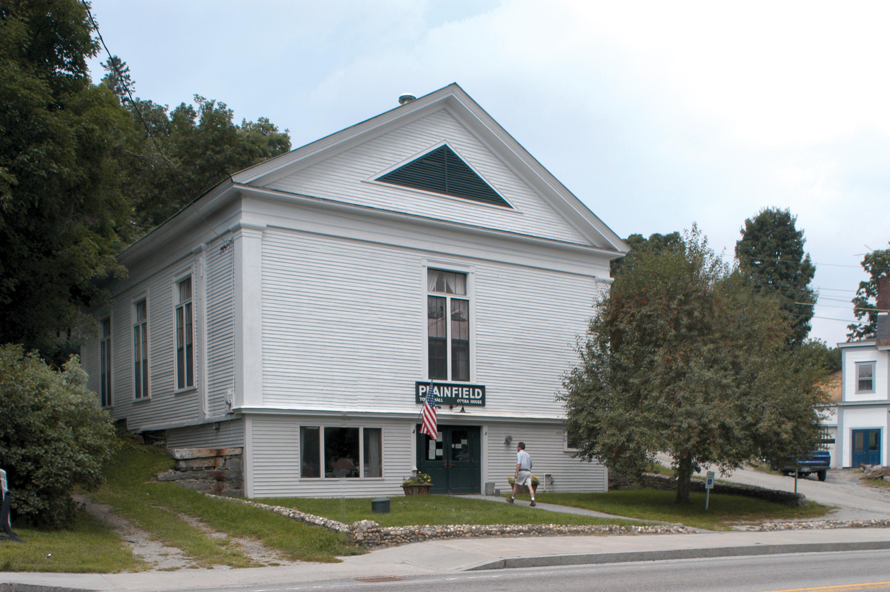 Plainfield Town Office, Plainfield