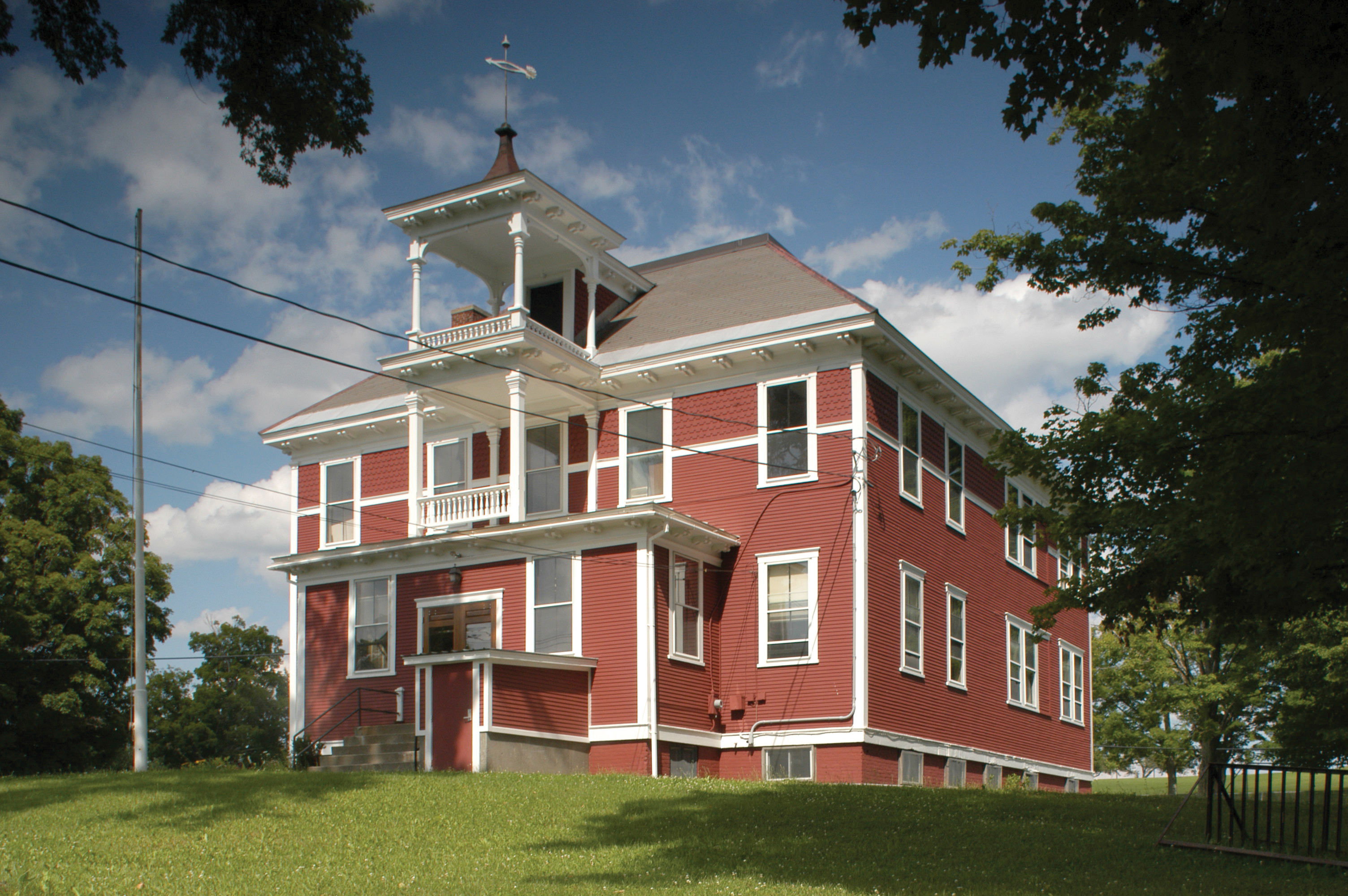 Randolph Vermont Technical Center Red Schoolhouse
