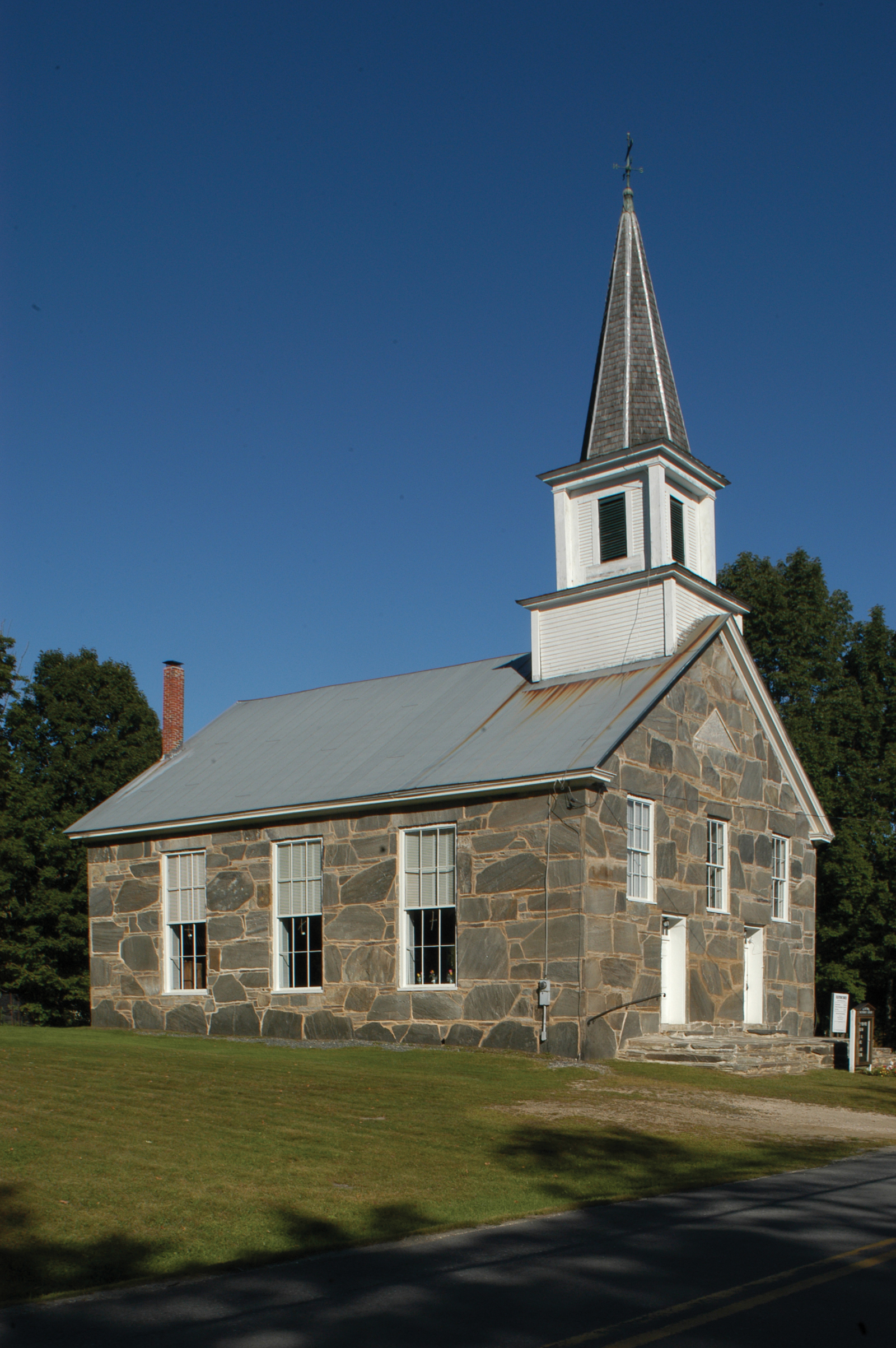 South Reading Old Stone Church