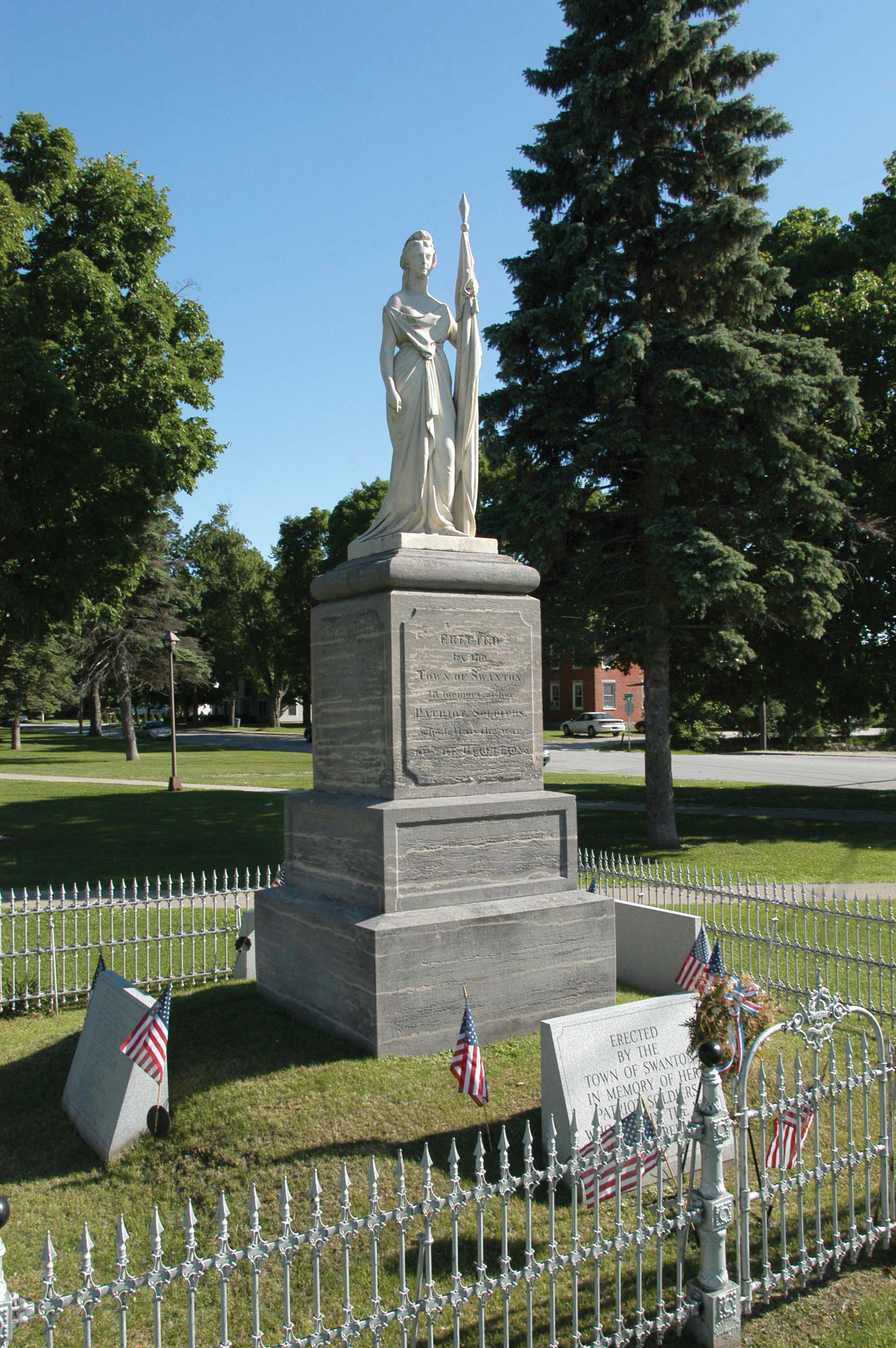 Civil War Monument, Swanton