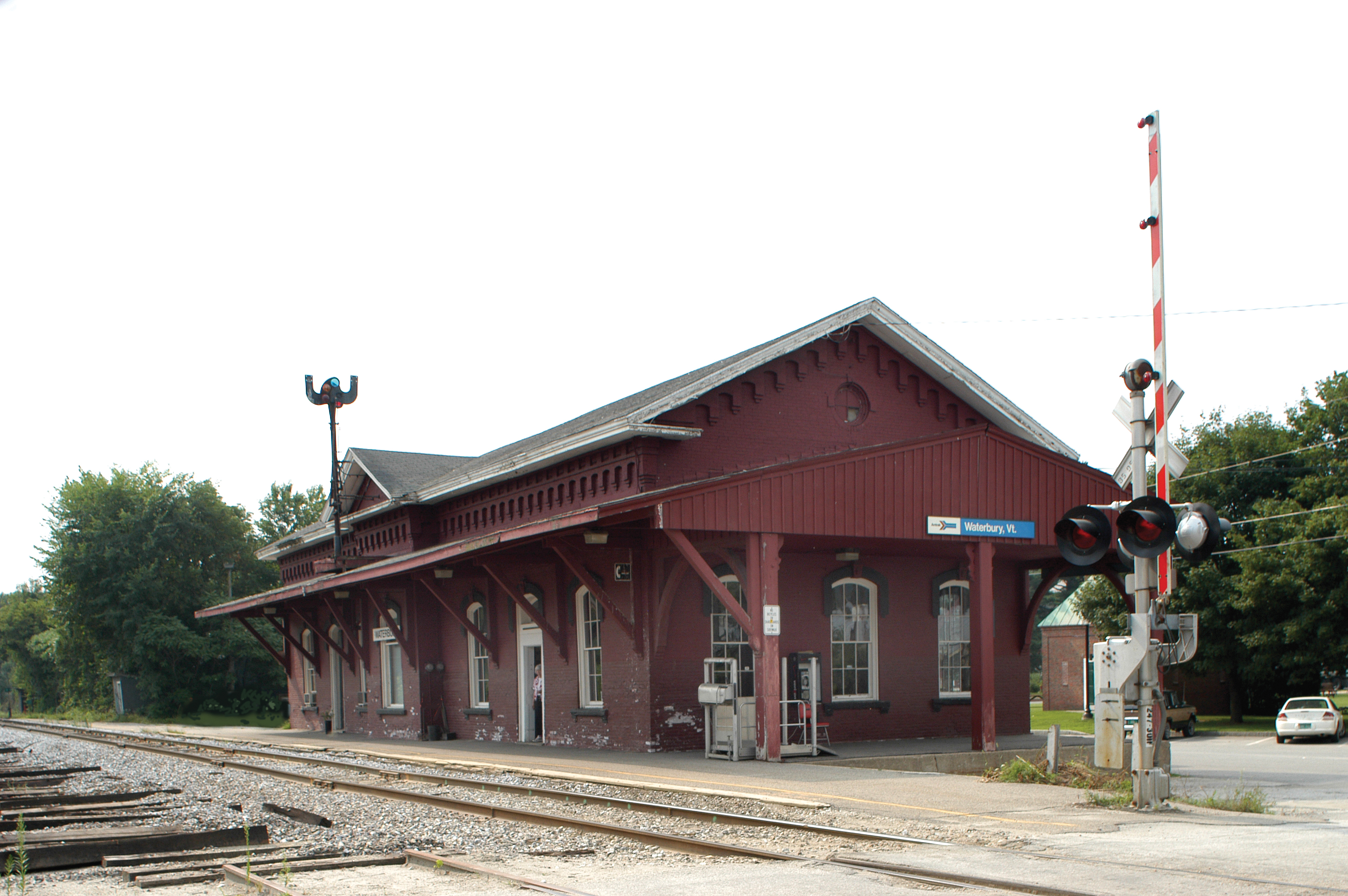 Waterbury Railroad Depot