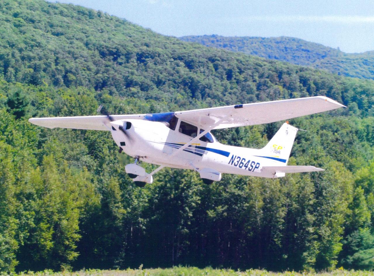 Plane Ride Over VT