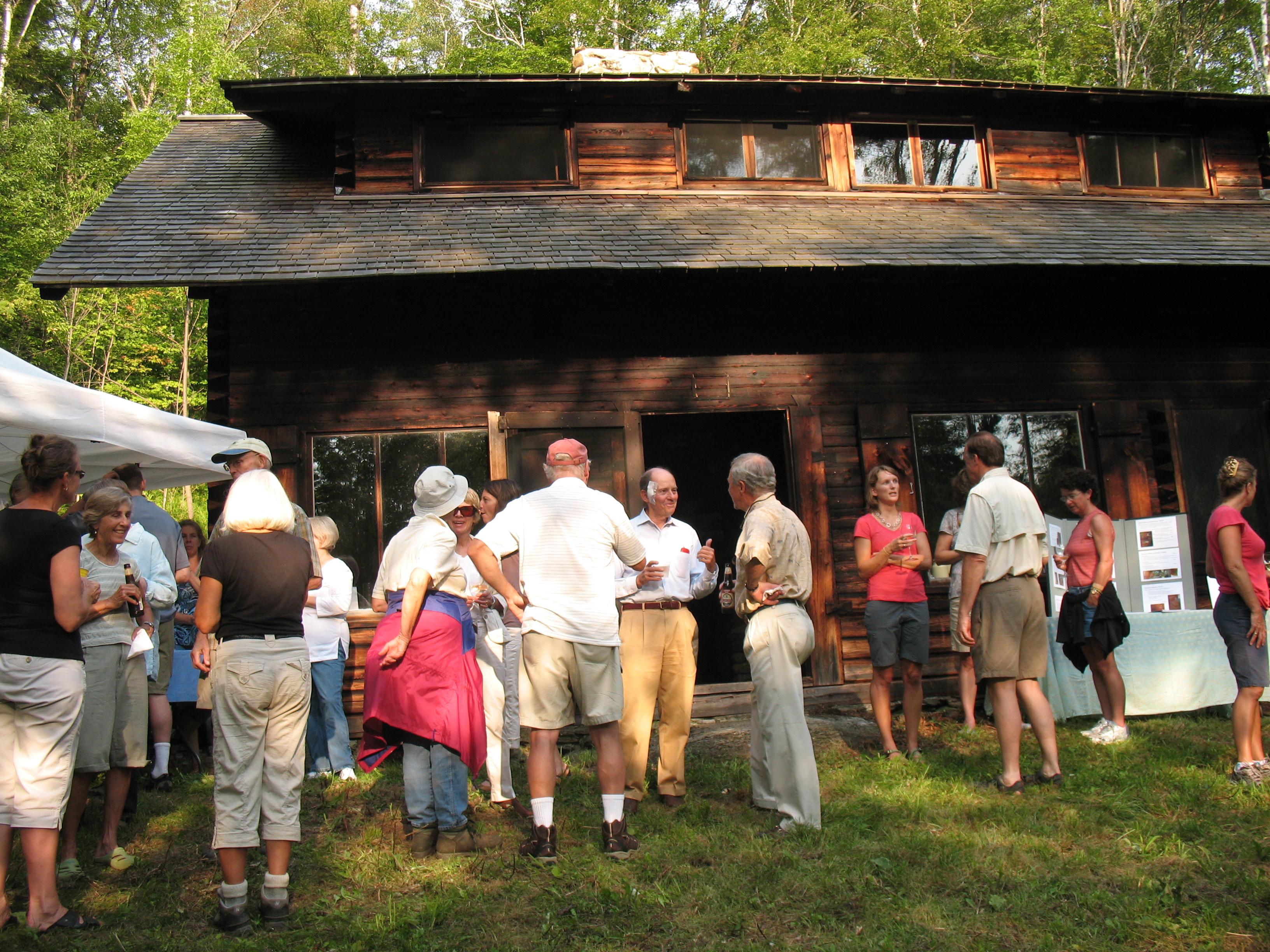 Moravian Cabin Open House