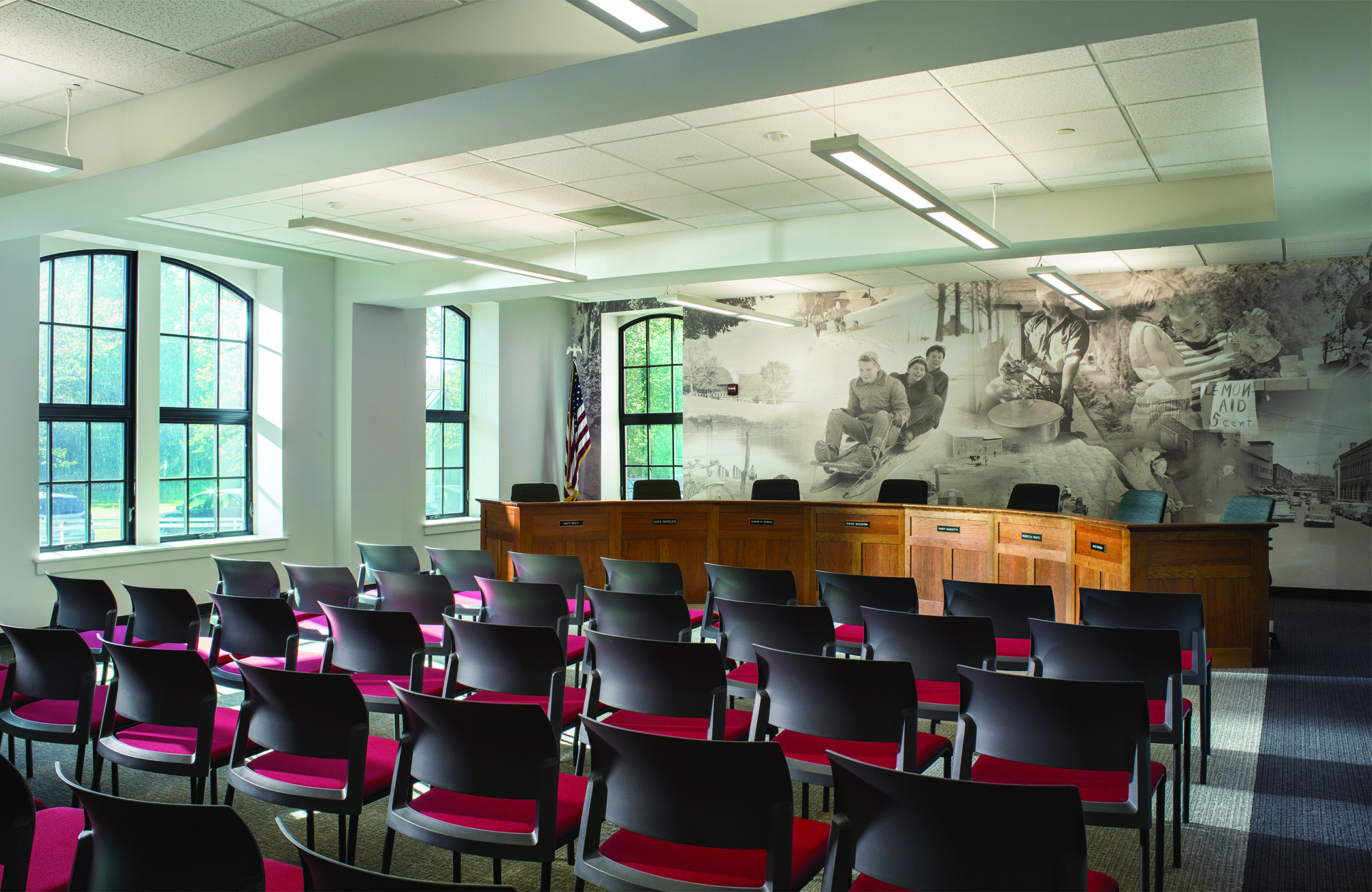 Hartford Town Hall Conference Room