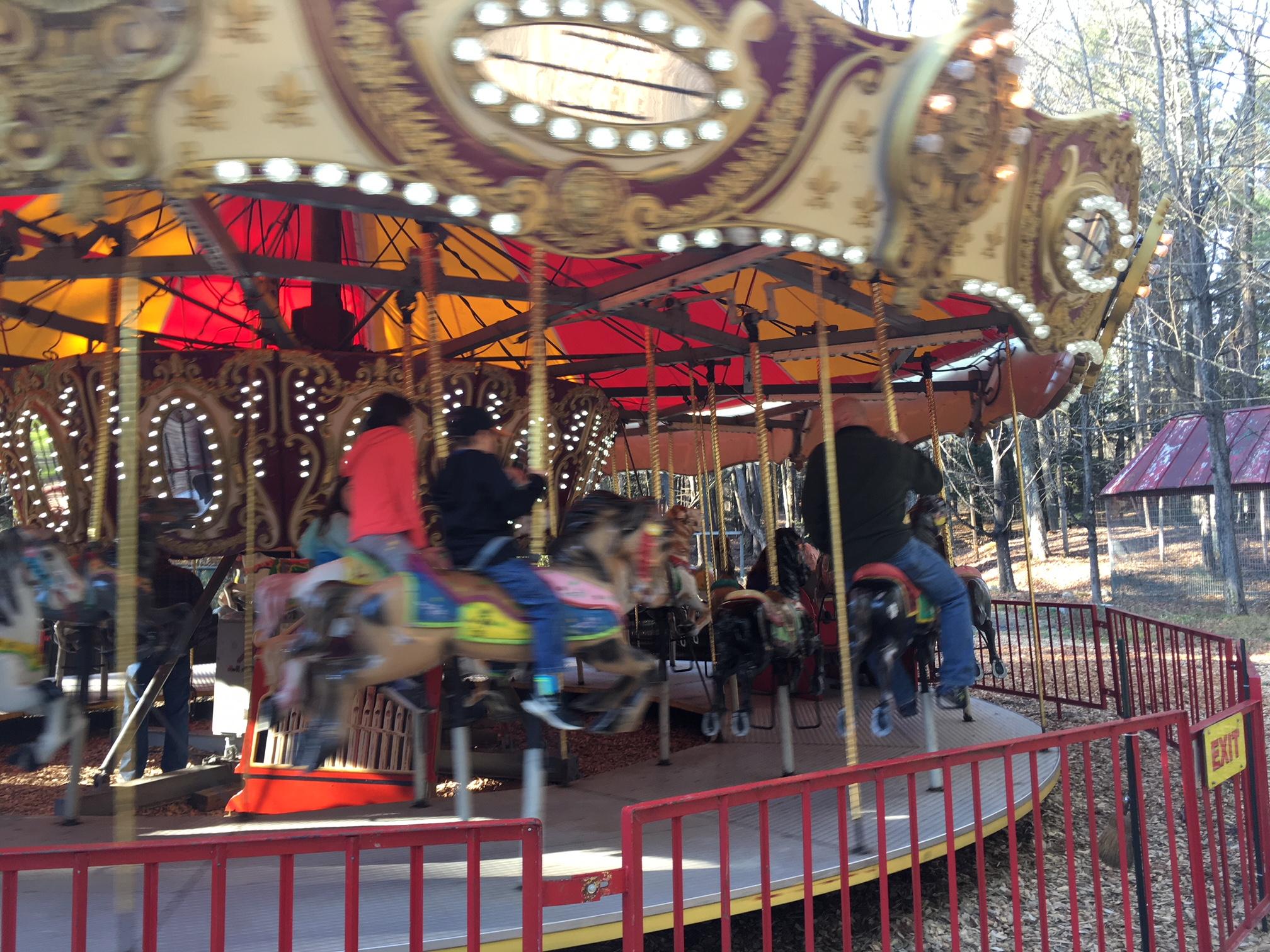 Santa's Land Carousel