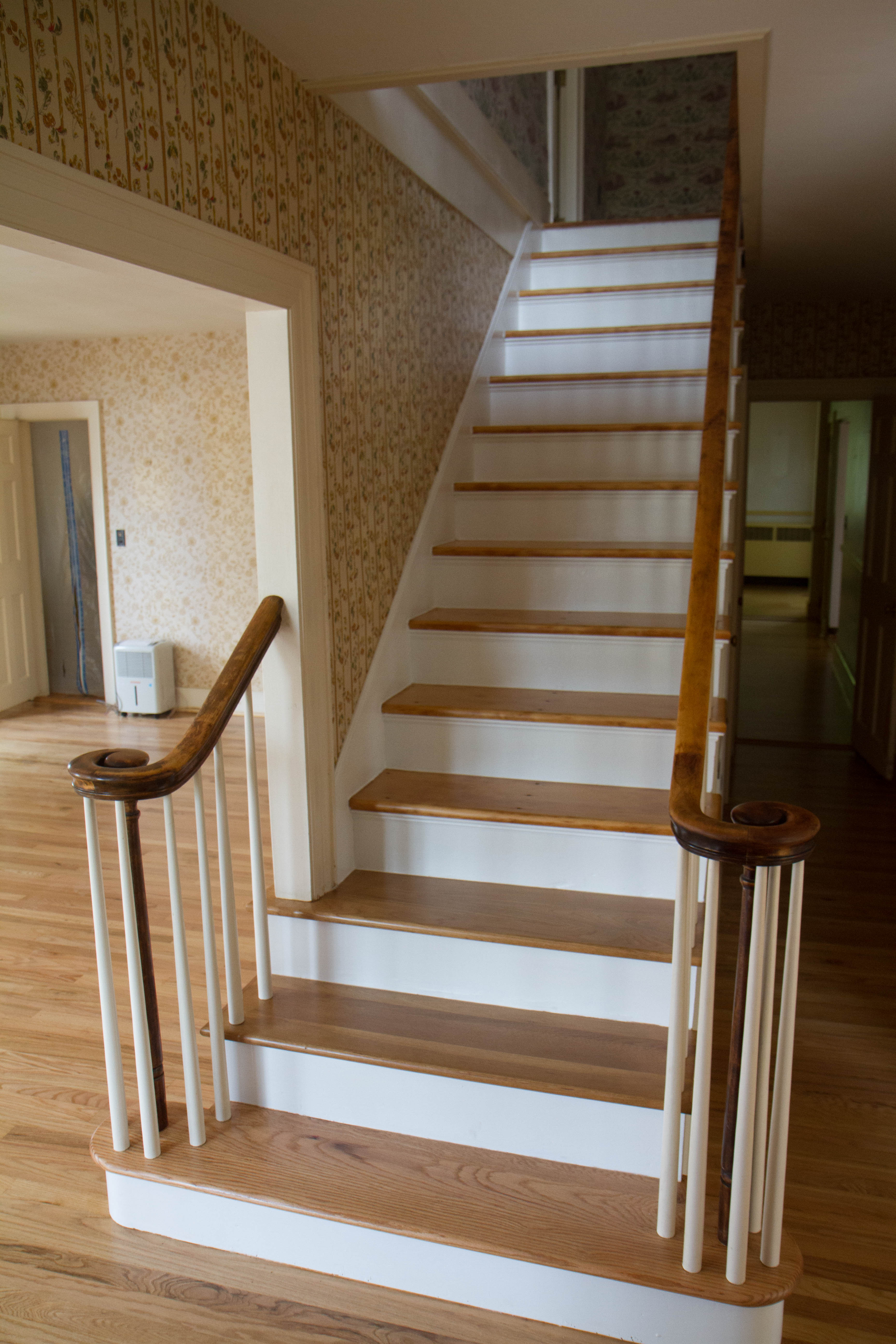 Front Hall Stair Case In Tomasi House