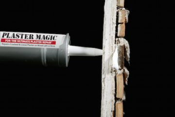Plaster Magic® restores the connection between the plaster and lath and reinforces it for half the time and money.