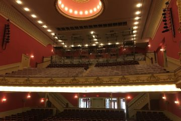 Structural Rehabilitation of timber roof trusses above the balcony of the Paramount Theatre in Downtown Rutland.