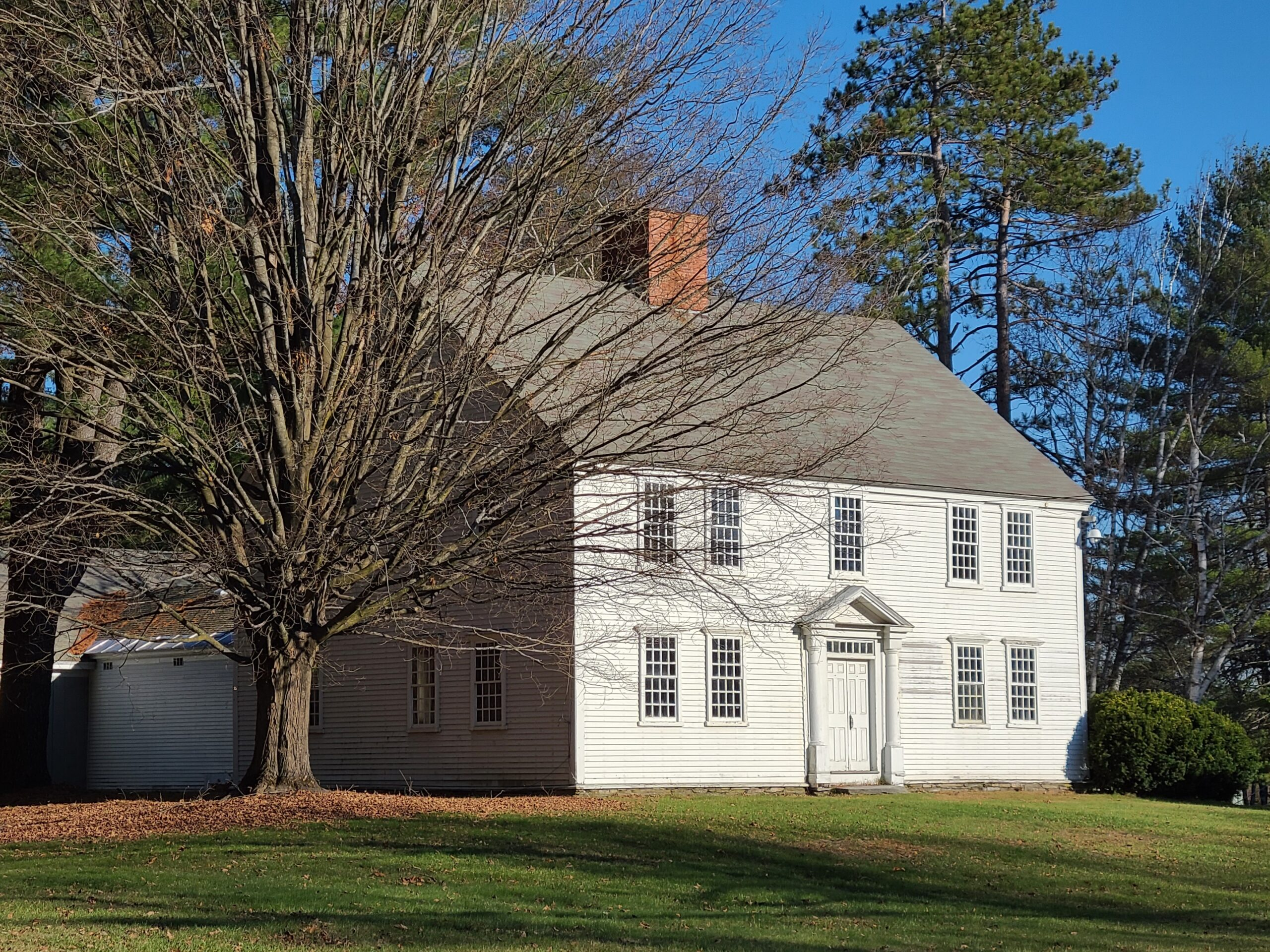Governor Hunt House, Vernon